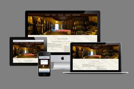 création de site web pour les vignerons