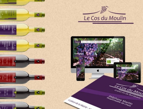 Vignoble : Site internet responsive