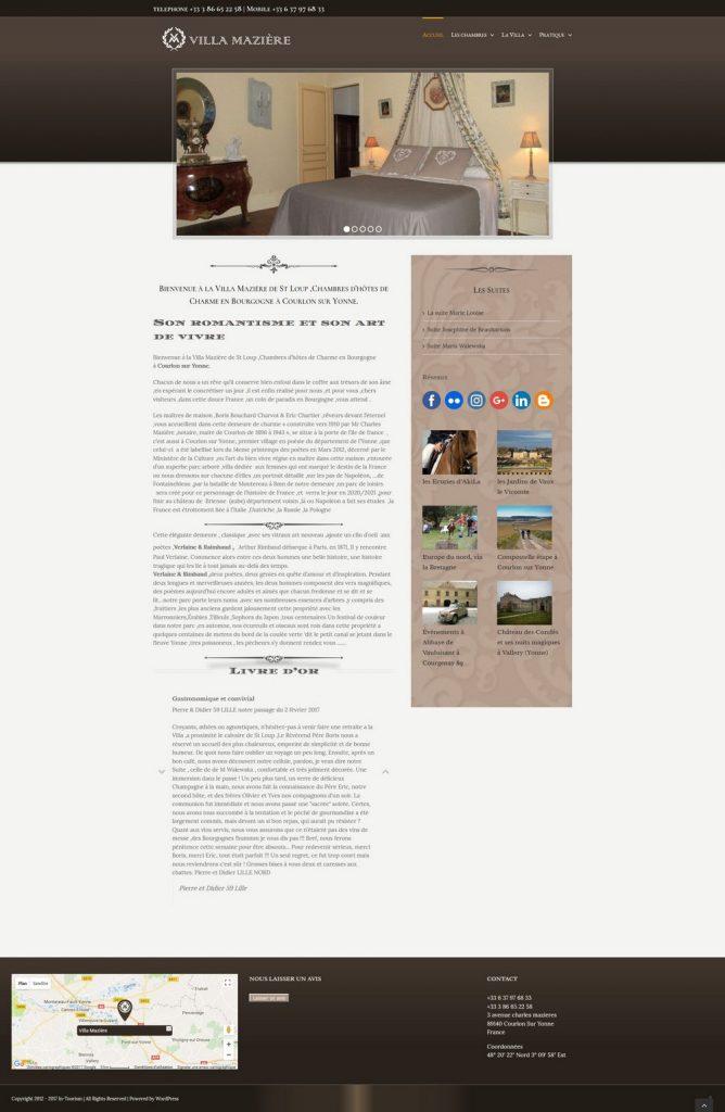 création de sites internet pas cher en Bourgogne